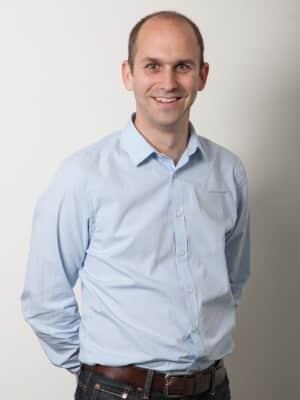Zeigt Herrn Jonas Hügli, Geschäftsführer und Inhaber der Unilube AG