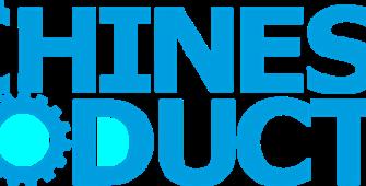 Zeigt das Logo der Fachzeitschrift Machines Production, Themgebiet Metallbearbeitung